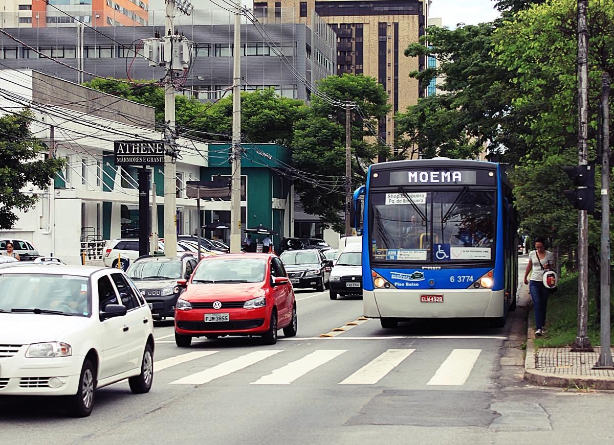 Foto da avenida Ibirapuera Moema SP