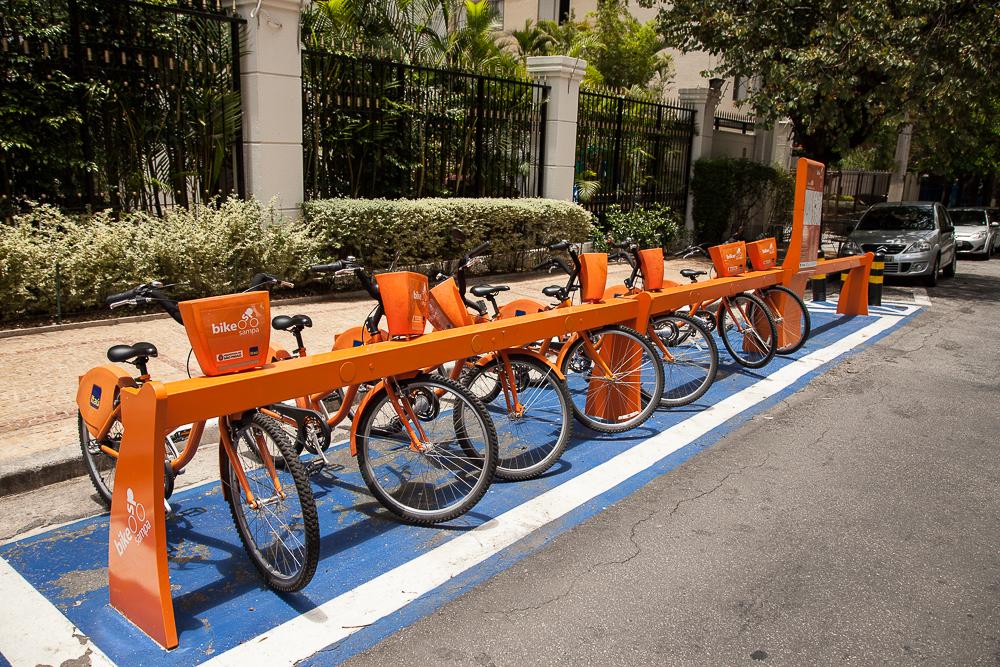 Bicicletas Itaú Moema SP