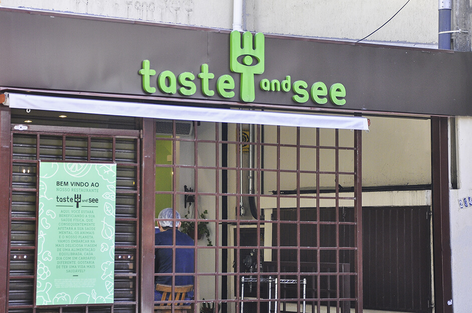 Restaurante Vegano Taste and See